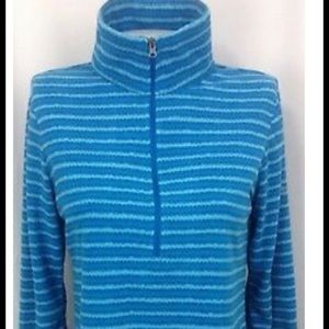 Columbia 1/4 zip striped pullover